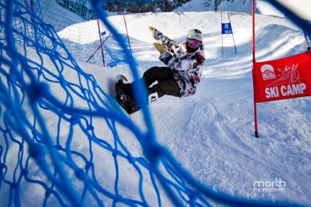 Todd Kirby's winning run at the Smash Life Bank Slalom in Big Sy, Montana