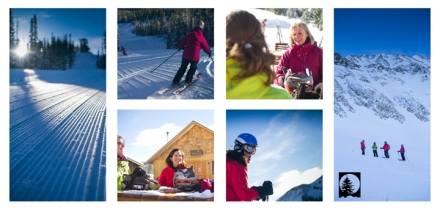 Moonlight Ladies Clinics every Wednesday at Moonlight Basin Resort, Big Sky Montana.