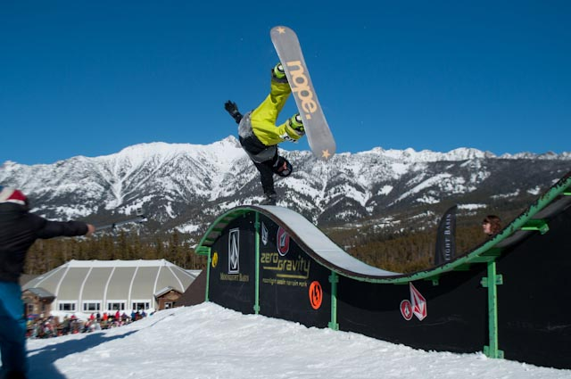 Hands down the most kid friendly snowboard contest around!
