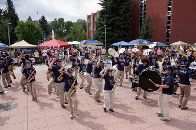 Catapalooza, Montana State University, Moonlight Basin, back to school, season pass deal, MSU campus, Marching band