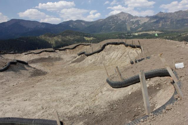 Left side fairway bunker on hole #1.