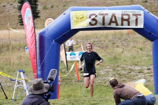 The Rut 50K, Big Sky Montana, Moonlight Basin, Ultramarathon, Paul Hamilton